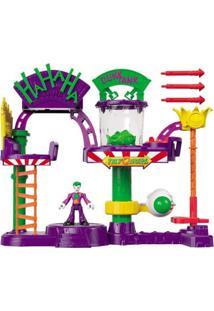 Imaginext - Dc Comics - A Fábrica De Risada Do Coringa - Coringa Joker - Mattel