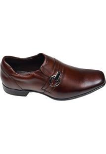 Sapato Masculino Social Istambul New Keffor Marrom Escuro