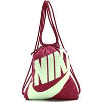 5fbab93fb Dafiti. Mochila Nike Sportswear Gymsack Heritage Vinho