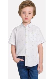 Camisa Infantil Masculina Milon Tricoline 12005.0001.12