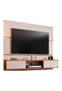 Painel Âmbar Em Mdp Para Tvs Até 65 Off-White - Móveis Bechara