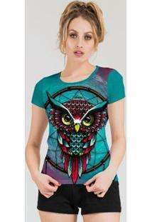 Camiseta Stompy Feminina Estampada 18 - Feminino