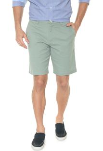 Bermuda Banana Republic Chino Slim Stretch-Cotton Verde