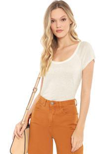 Camiseta Lez A Lez Lisa Off-White - Kanui