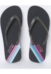 Chinelo Lacoste Sintetico feminino   Shoes4you b2c70e1142
