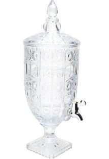 Dispenser Starry Em Cristal- Cristal- 4L- Rojemarojemac