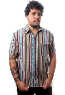 Camisa Andy Roll Clothing Pointer Multicolorida