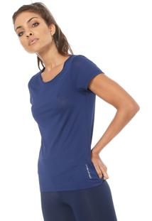 Camiseta Graphene Lisa Azul-Marinho