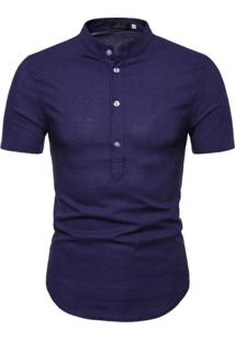 Camisa Canmore - Azul