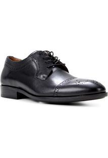 Sapato Social Couro Shoestock Brogue Masculino - Masculino