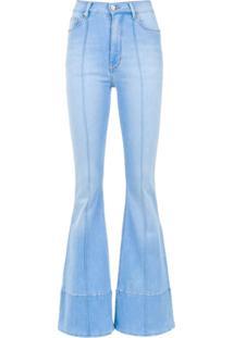 Amapô Calça Jeans Boca De Sino 'Veronia' - Azul