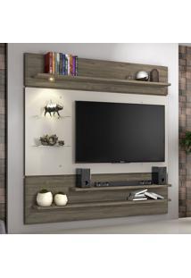 Painel Para Tv Até 60 Polegadas Nt 1010 Canela/Areia - Notavel