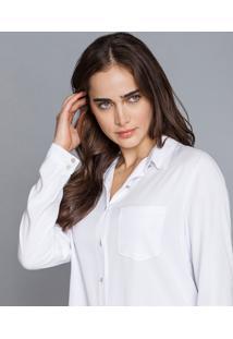 Camisa Manga Longa Clássica Branco - Lez A Lez