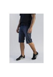 Bermuda Jeans Masculina Versatti Premium Aruba Preta