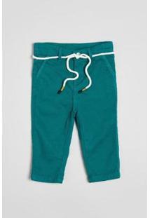 Calça Infantil Reserva Estique-Se Alfaiate Masculina - Masculino-Verde
