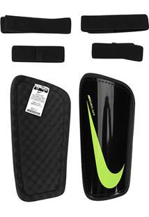 Caneleira Futebol Nike Hard Shell Slip-In - Unissex