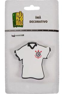 Imã Corinthians Camisa Branca