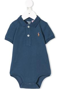 Ralph Lauren Kids Body Estilo Polo - Azul