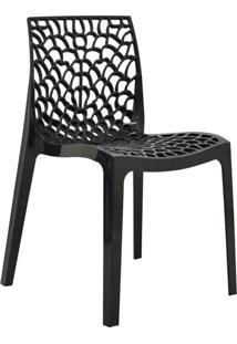 Cadeira Gruv -Rivatti - Preto
