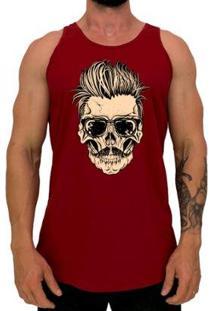 Regata Longline Mxd Stylish Skull Masculina - Masculino