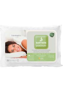 Travesseiro Santista - Platinum - Branco