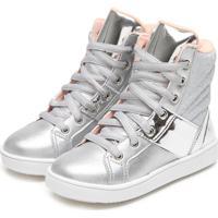 124206c423be8 Tênis Para Meninas Metalizado Pampili infantil | Shoes4you
