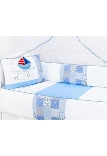 Enxoval Infantil Laura Baby Veleiro Azul