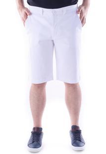 Bermuda 639 Sarja Regular Traymon Branco