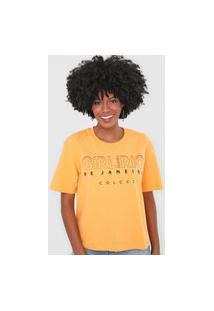 Camiseta Colcci Girl Amarela