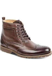 Bota Dress Boot Sandro Moscoloni Donatello Marrom Escuro Coffee