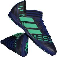 23349c4787 Chuteira Adidas Nemeziz Messi 17.3 Tf Society Azul