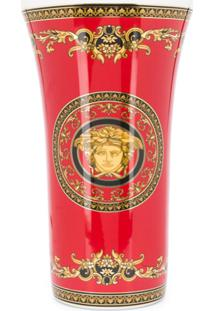 Versace Home Vaso Vasenserie Medusa - Vermelho