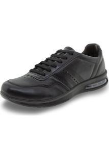 Sapato Masculino Bolha Pegada - 118701 Preto 38