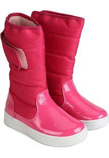 Bota Infantil Bibi Urban Boots Feminina - Feminino-Rosa