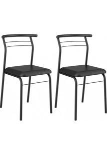 Cadeira 1708 Color 02 Unidades Vermelho Real Carraro