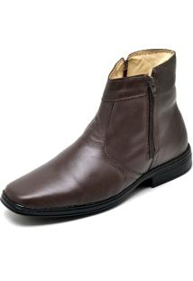 Bota Botina Social Conforto Top Franca Shoes Cafe