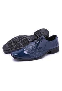 Sapato Masculino Schiareli Social Azul