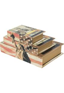 Livro Caixa Ny Colorido