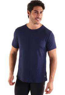 Camiseta Liquido Basic Fit Boy - Azul Marinho M