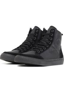 Tênis Sneaker K3 Fitness Crazzy Preto