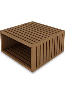 Modulo Dominoes 45X22 Cor Stain Jatoba - 23222 - Sun House