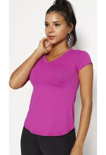 Blusa Lisa - Rosa Escuro - Physical Fitnessphysical Fitness