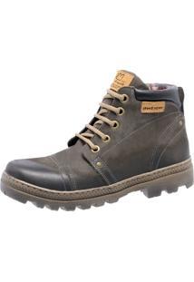 Bota Mega Boots 6003 Man Cinza