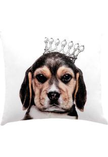 Capa Para Almofada Innovi Dogs 2 Percal 150 Fios 44X44Cm