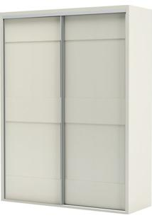 Armario Premium Com 2 Portas E 2 Gavetas Cor Off White 1,79 Mt (Larg) - 56453 - Sun House