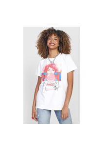 Camiseta Coca-Cola Jeans Best Version Off-White