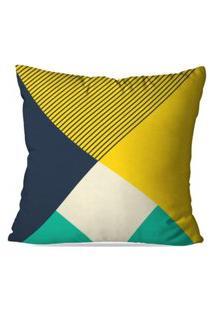 Capa De Almofada Avulsa Decorativa Geométrico 35X35