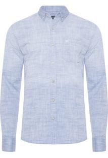 Camisa Masculina Gael - Azul
