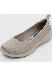 Slipper Skechers Arya Different Edge Bege