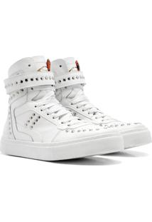 Sneaker K3 Fitness Spike Branco - Tricae